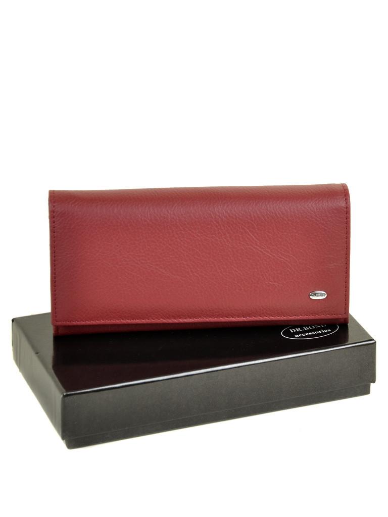 Кошелек Classic кожа DR. BOND W807-2 scarlet