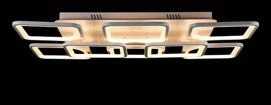 Светодиодная люстра L78587/8+4 LED (WT), фото 3