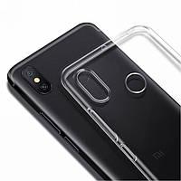 Чехол силиконовый для Xiaomi Mi Max 3 ультратонкий прозрачный