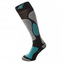 Шкарпетки лижні 4F Warm 35-38 grey-black