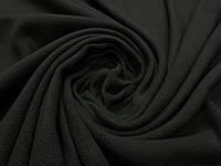 Ткань флис черный цвет, фото 1