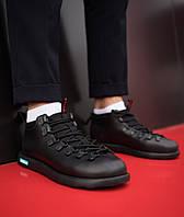 Мужские кроссовки Нейтив (полностью черные), фото 1