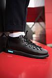Мужские кроссовки Нейтив (полностью черные), фото 2