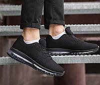 Мужские кроссовки Кросс 360 (черные), фото 1