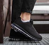 Мужские кроссовки Кросс 360 (черные), фото 2