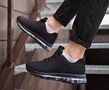 Мужские кроссовки Кросс 360 (черные), фото 4