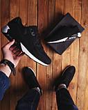 Мужские кроссовки Ривал 90 (черные), фото 2