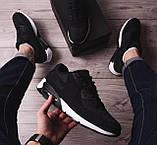 Мужские кроссовки Ривал 90 (черные), фото 3
