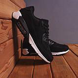 Мужские кроссовки Ривал 90 (черные), фото 5