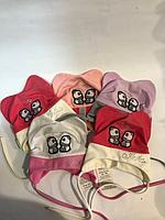 Детская шапочка Тина (варианты расцветок, 44-46 рр)