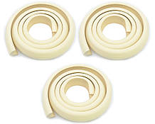 Защитные ленты на острые углы для безопасности детей 3,5х1,2х200 см Бежевый (n-767)