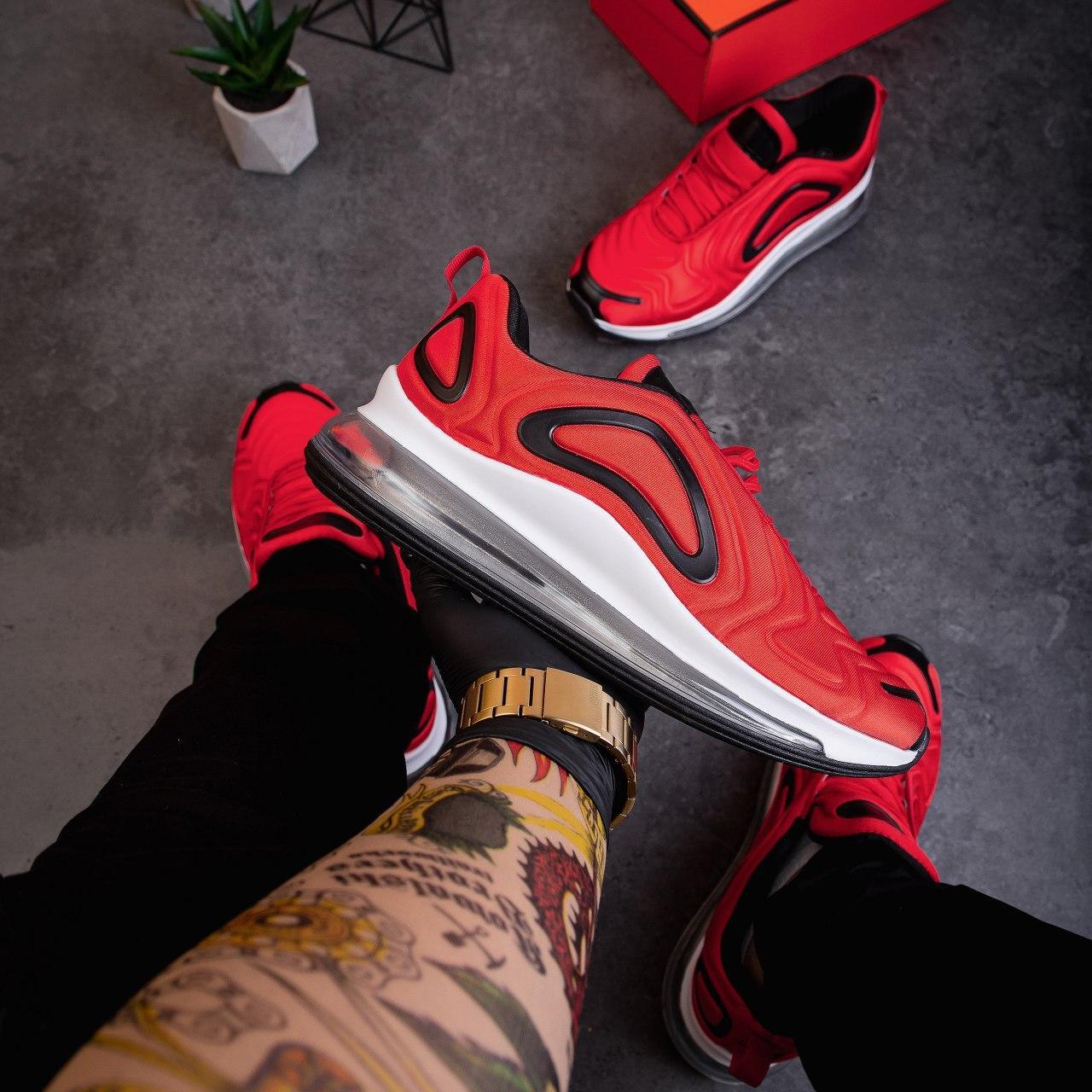 Чоловічі кросівки Ривал Арт 720(червоні)