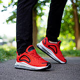 Мужские кроссовки Ривал Арт 720(красные), фото 4