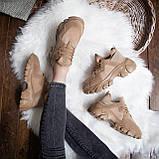 Женские кроссовки Стилли Маня (коричневые), фото 2