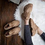 Женские кроссовки Стилли Маня (коричневые), фото 3