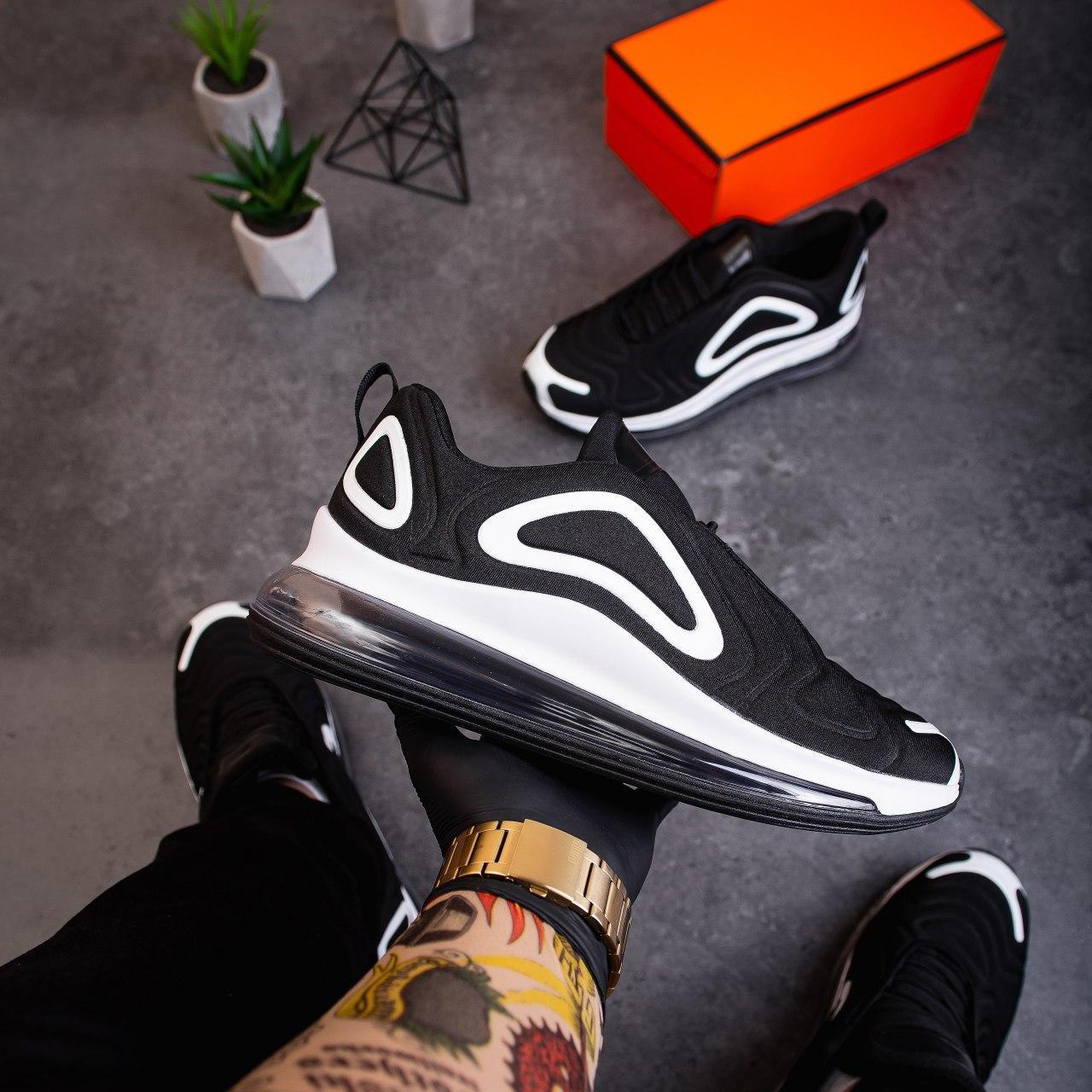 Мужские кроссовки Ривал Арт 720 (черныо-белые) - 41