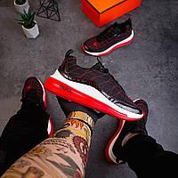 Мужские кроссовки Булл (черно-красные) - 41