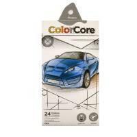 Карандаши цветные 3100-24СВ ColorCore 24цвета  +1черногр. 954273