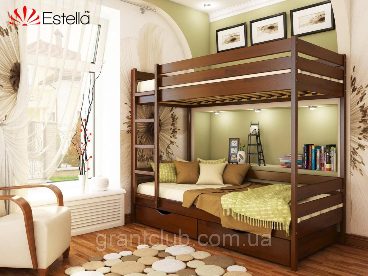 Двоярусне ліжко Дует 80х190 108 Щит 2Л4