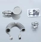 Душевая система на умывальник External Shower с турманиловой насадкой для душа, фото 4