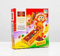 """Печиво """"Feiny Biscuits"""" Caramel Schoko-Snack 162г 1/13"""