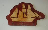 Ключница лодка. Ручная работа