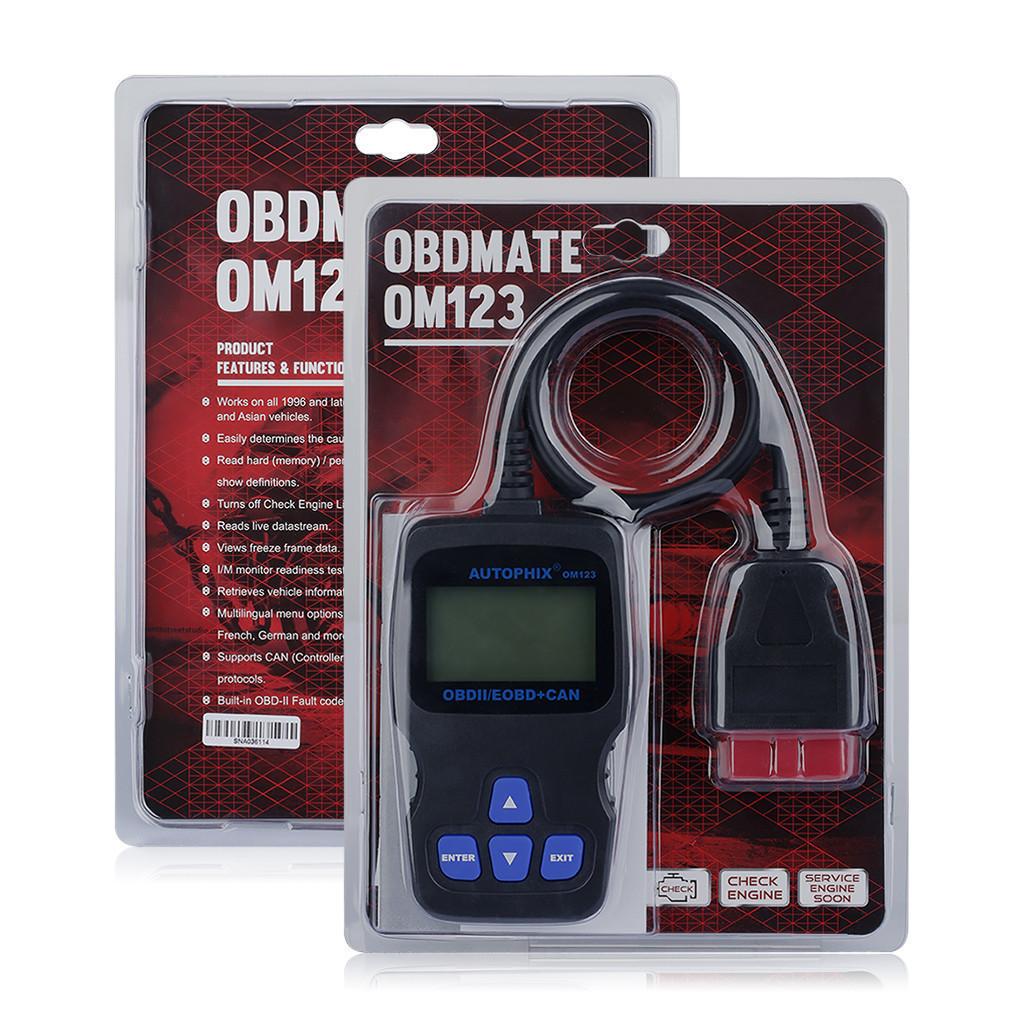 OBD сканер Autophix OBDMATE OM123