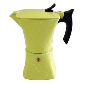 Гейзерна кавоварка Benson на 3 чашки литий алюміній