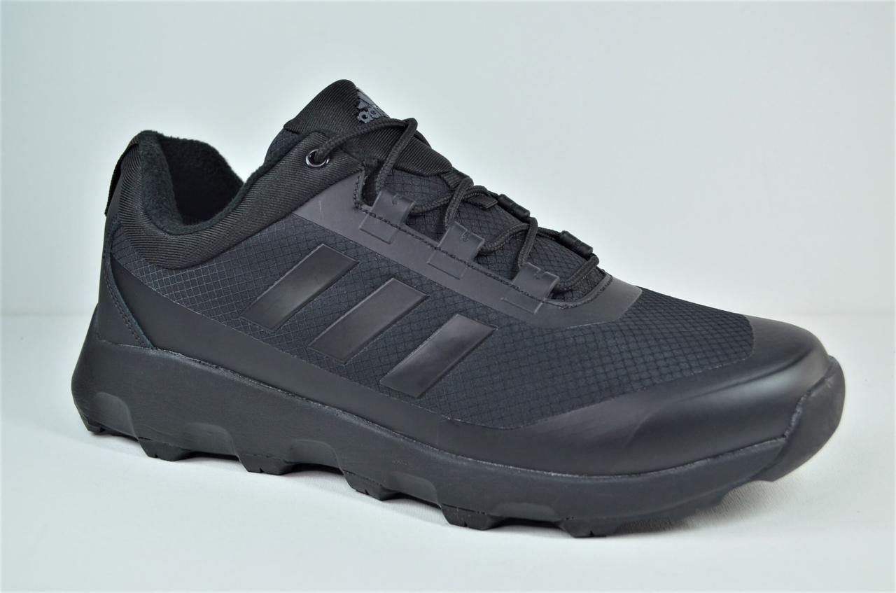 Мужские демисезонные кроссовки черные в стиле Climaproof 978 - 5