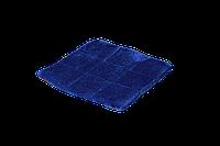 Подушка-лежак (поролон) для кошек и собак Мур-мяу квадратная 37 х 37 см Синяя