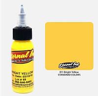 Краска для тату Eternal Bright Yellow (канареечный жёлтый)