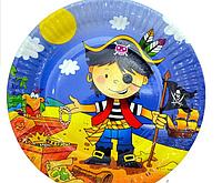 Тарелки Пираты 23 см.