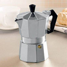 Гейзерная кофеварка Benson на 3 чашки литой алюминий, фото 3