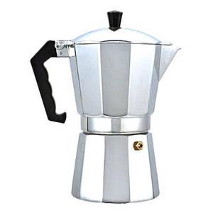 Гейзерна кавоварка Benson на 6 чашок литий алюміній
