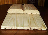 Фальшбрус Сосна 3000х125х25 (І-й сорт), фото 2