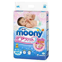 Moony Подгузники Air Fit M  6-11 кг, 64 шт (Disney)