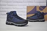 Мужские зимние высокие непромокаемые кроссовки на мембране BONA, фото 3