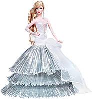Кукла Барби коллекционная Праздничная 2008 ( 2008 Holiday Barbie Doll)