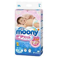 Moony Подгузники Air Fit L  9-14 кг, 54 шт (Disney)