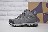 Мужские зимние высокие водонипроницаемые ботинки на  мембране BONA, фото 4