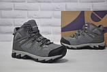 Мужские зимние высокие водонипроницаемые ботинки на  мембране BONA, фото 5