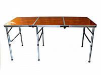 Стол складной тройной для пикника Ranger RA 1815 Brown (112891)