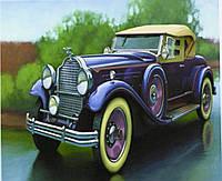 """Картина по номерам  """"Ретро авто"""" 40*50 см, краски - акрил"""