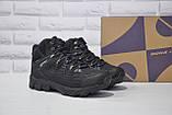 Чоловічі чорні високі водонипроницаемые черевики на мембрані BONA, фото 2