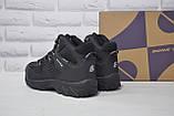 Чоловічі чорні високі водонипроницаемые черевики на мембрані BONA, фото 4