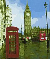 "Картина за номерами ""Тауерський міст-Лондон"" 40*50 см, фарби - акрил"