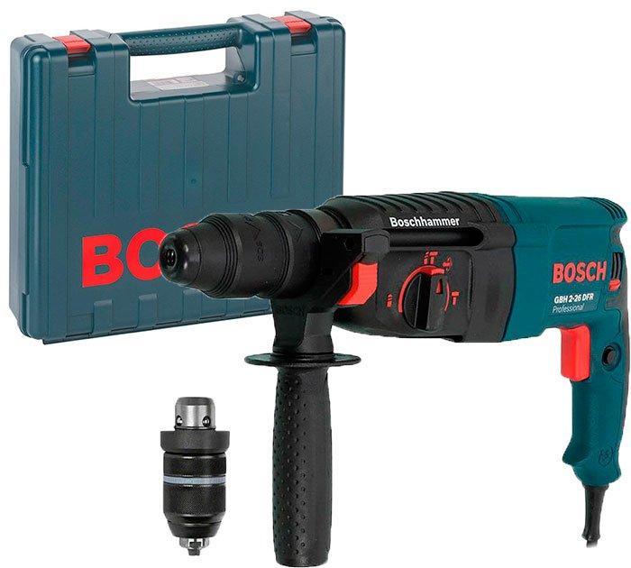 Перфоратор Bosch GBH 2-26 DFR Professional (0.8 кВт, 2.7 Дж) (0611254768)