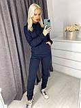 Спортивный тёплый костюм турецкая трехнитка с начесом VN367, фото 4
