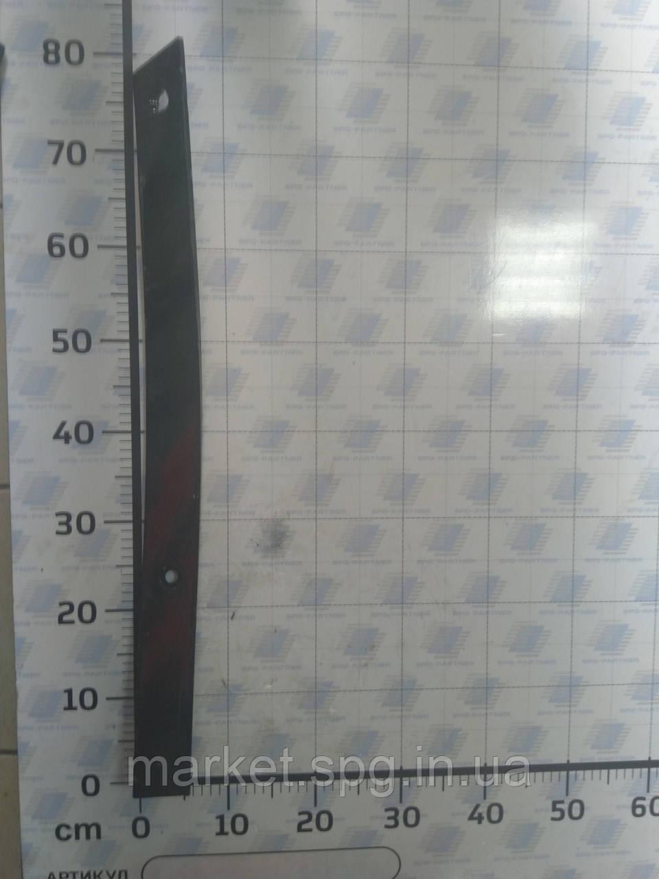 151 30 121 Пластина полосового відвалу права  №2 (780мм) ALPLER