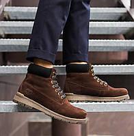 Мужские ботинки Тимберленд (коричневые), фото 1